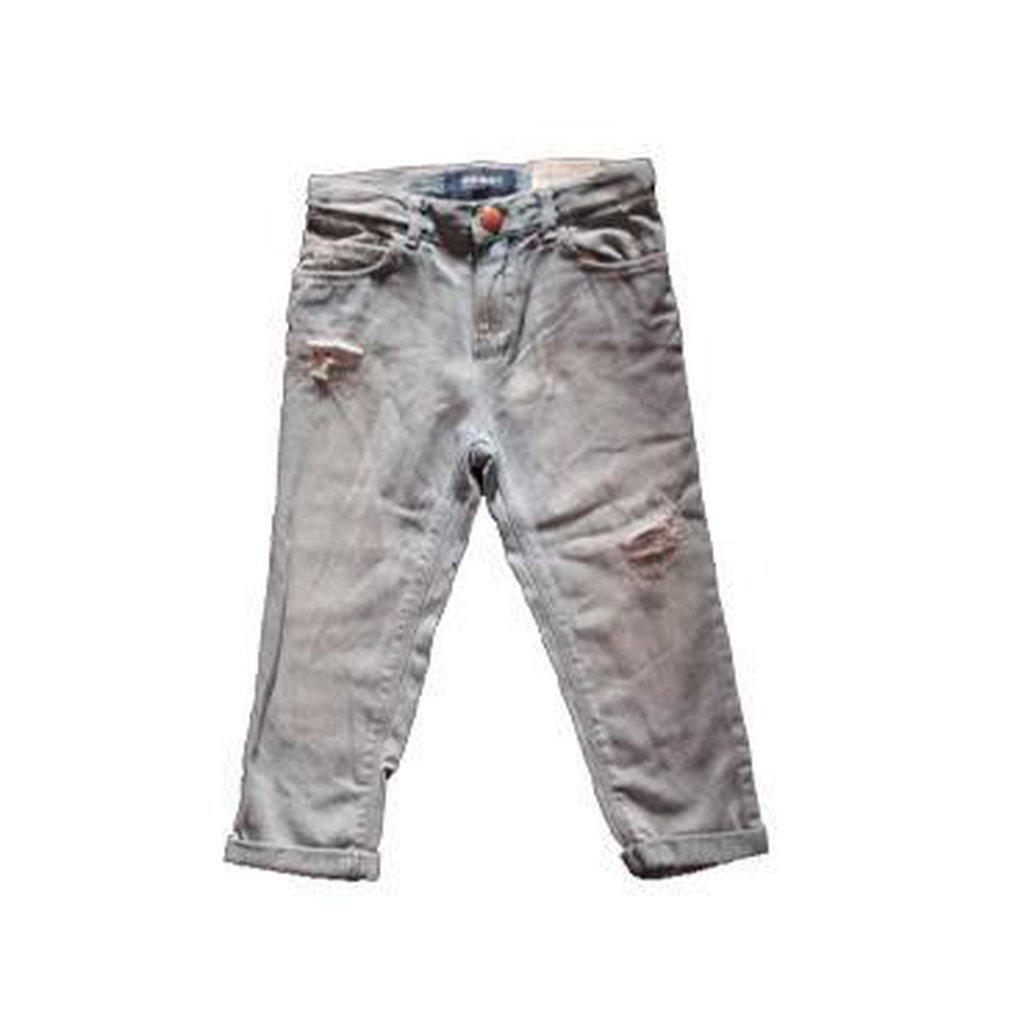 Distressed Boyfriend Jeans for Toddler Girls