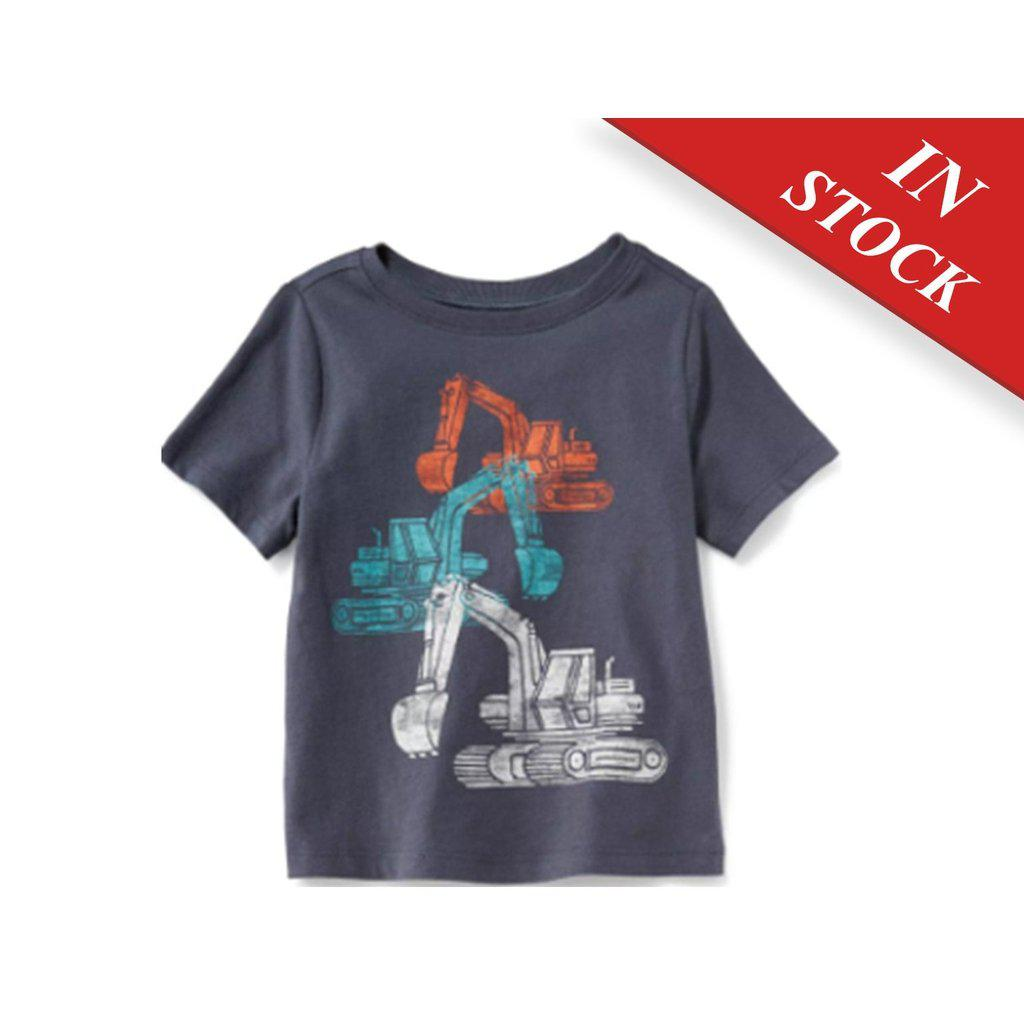 Graphic Crew-Neck Tee For Baby Boys