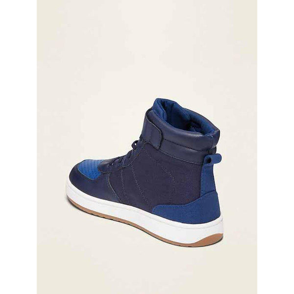 Canvas Secure-Strap High-Tops for Boys