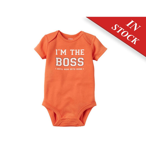 I'M The Boss Collectible Bodysuit