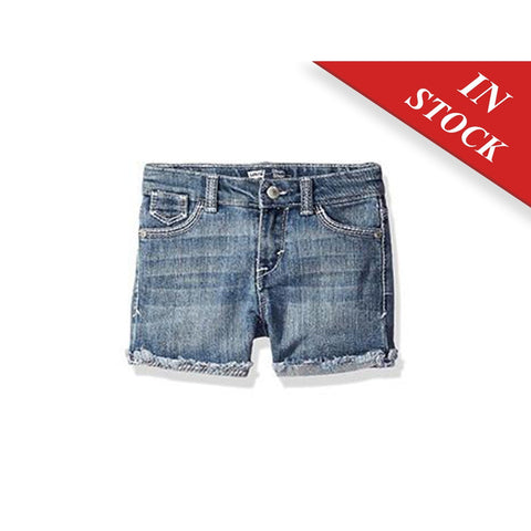 Levi'S Girls' Mission Thick Stitch Shorty Denim Short