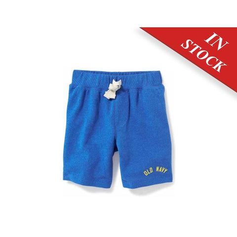 Logo-Graphic Shorts For Toddler
