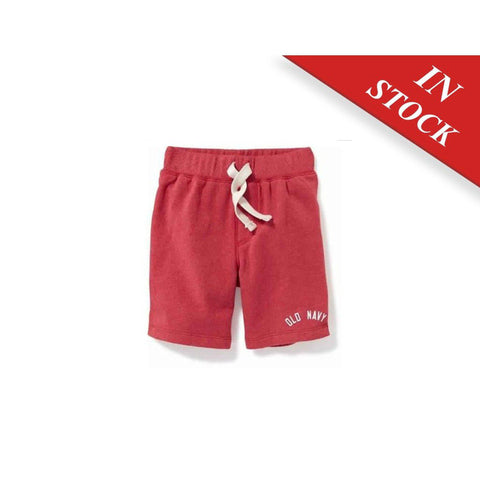 Logo-Graphic Shorts For Toddler Boys