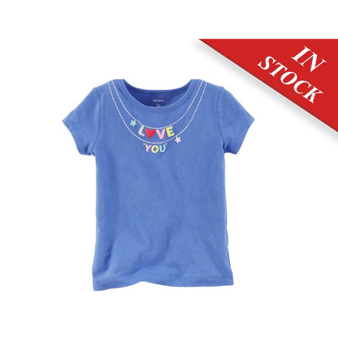Love You Necklace Graphic Tee