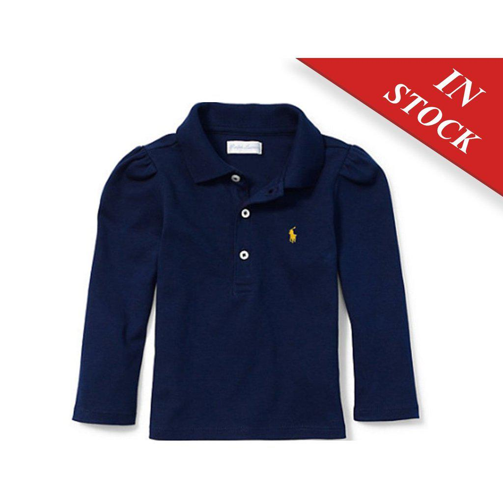 Ralph Lauren Cotton Long-Sleeve Polo Shirt