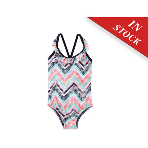 Oshkosh Chevron Print Swimsuit