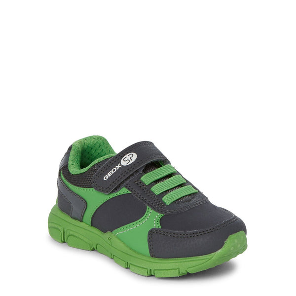 Anthracite & Light Green Torque Running Sneakers