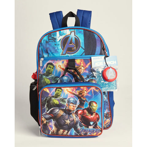 Avengers 5-Piece Backpack Set