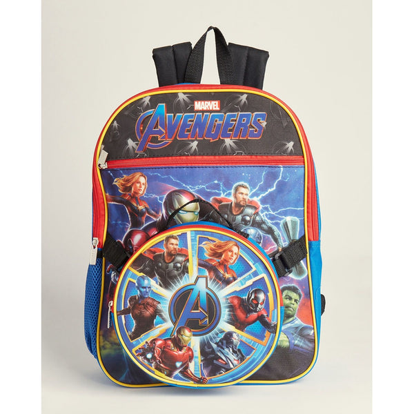 Avengers Backpack & Lunch Box Set