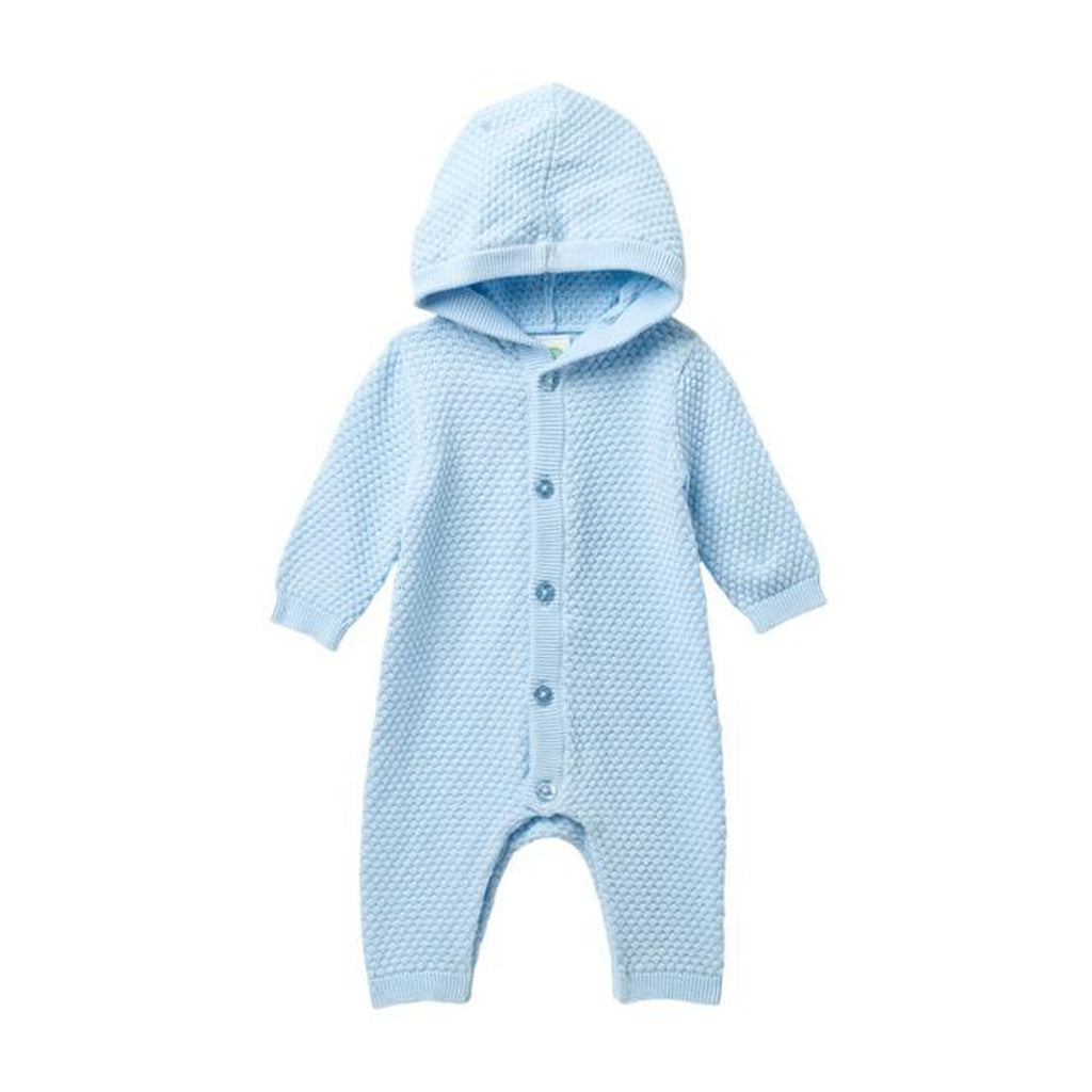 Blue Hooded Coverall