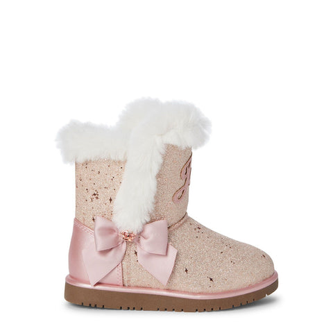 Blush Windsor Glitter Boots