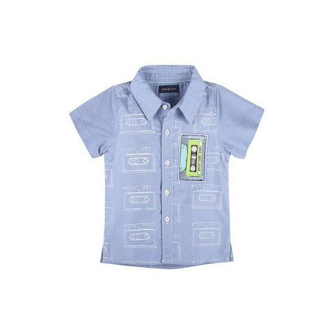 Cassette Tape Short Sleeve Shirt