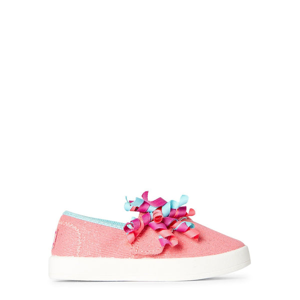 Coral B-Loved Cutie Curls Slip-On Sneakers