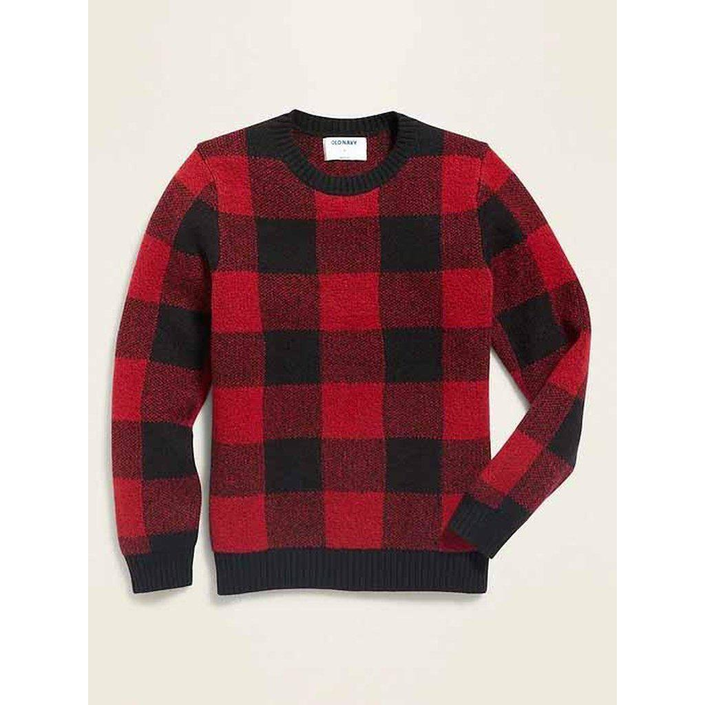 Crew-Neck Sweater for Boys