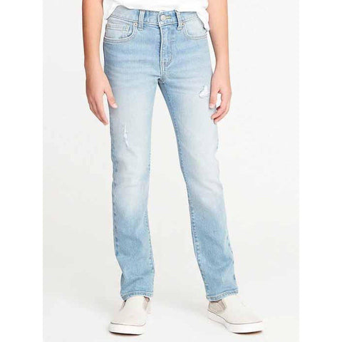 Distressed Built-In Flex Skinny Jeans for Boys