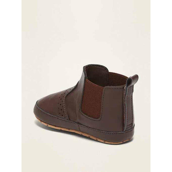 Faux-Leather Chelsea Boots for Baby