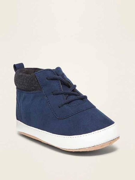 Faux-Suede High-Tops for Baby