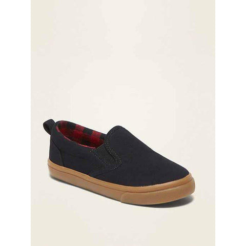 Faux-Suede Slip-On Sneakers for Toddler Boys