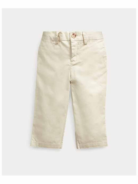 Flat-Front Cotton Chino
