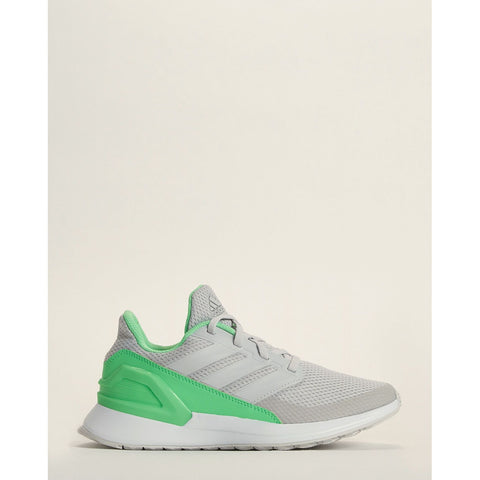 Grey & Green RapidaRun Wide Running Sneakers