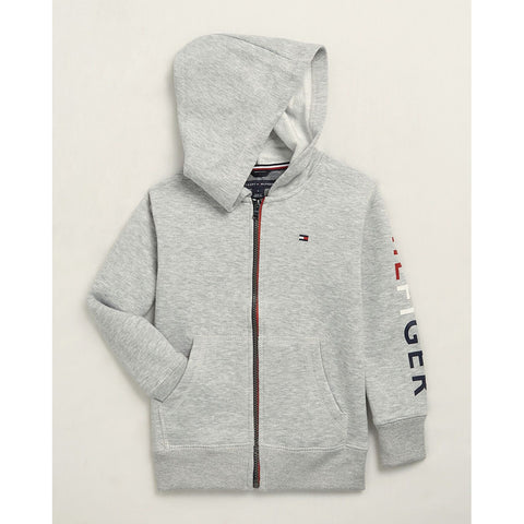 Grey Heather Cooper Zip Hoodie