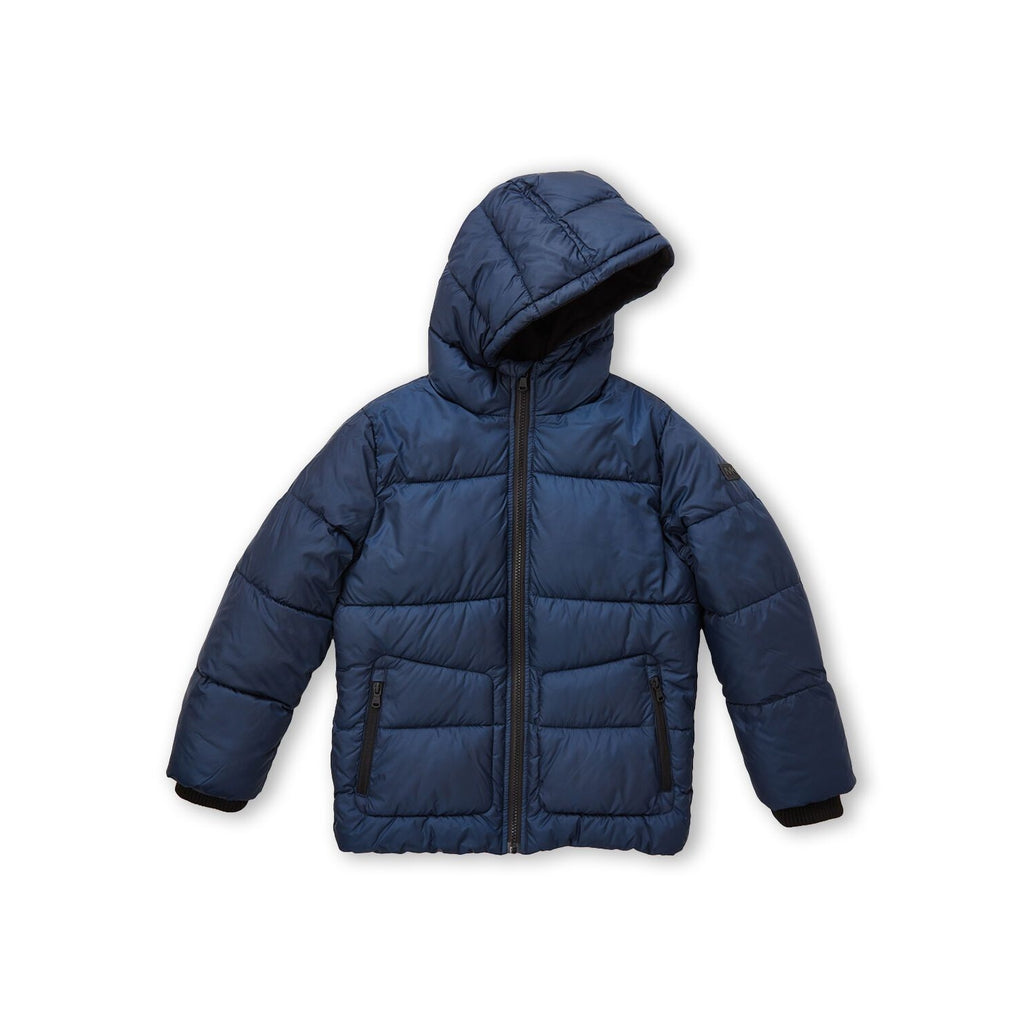 Hooded Core Puffer Coat