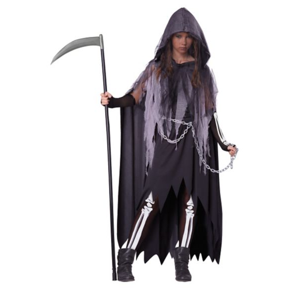 Kids Miss Reaper Costume