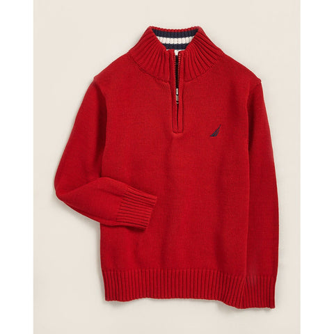 Larsson Quarter Zip Sweater
