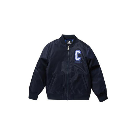 Logo Water Resistant Bomber Jacket