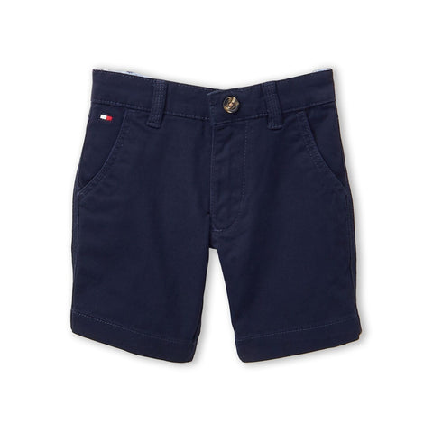 Navy Chester Twill Shorts