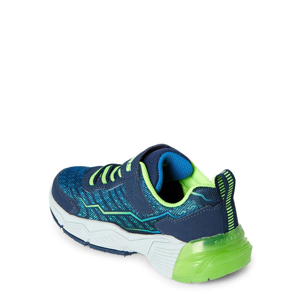 Navy & Lime Thermoflux 2.0 Running Sneakers