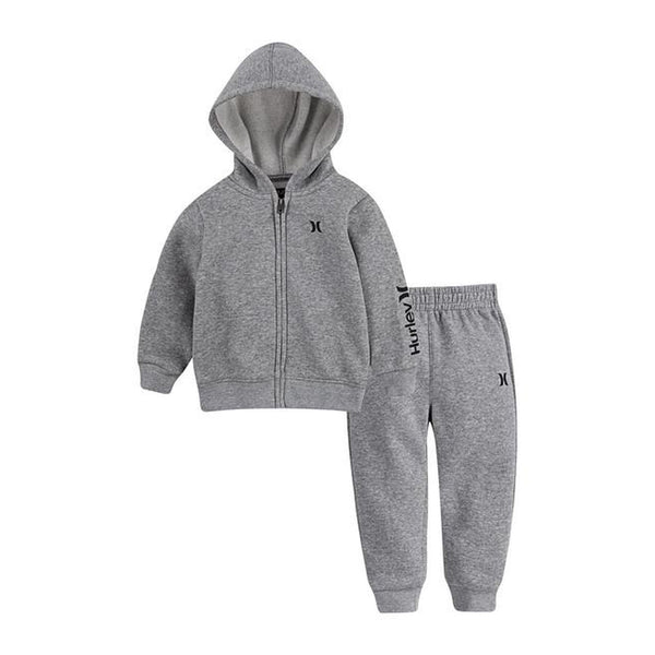 One & Only Full Zip Jacket & Joggers Set
