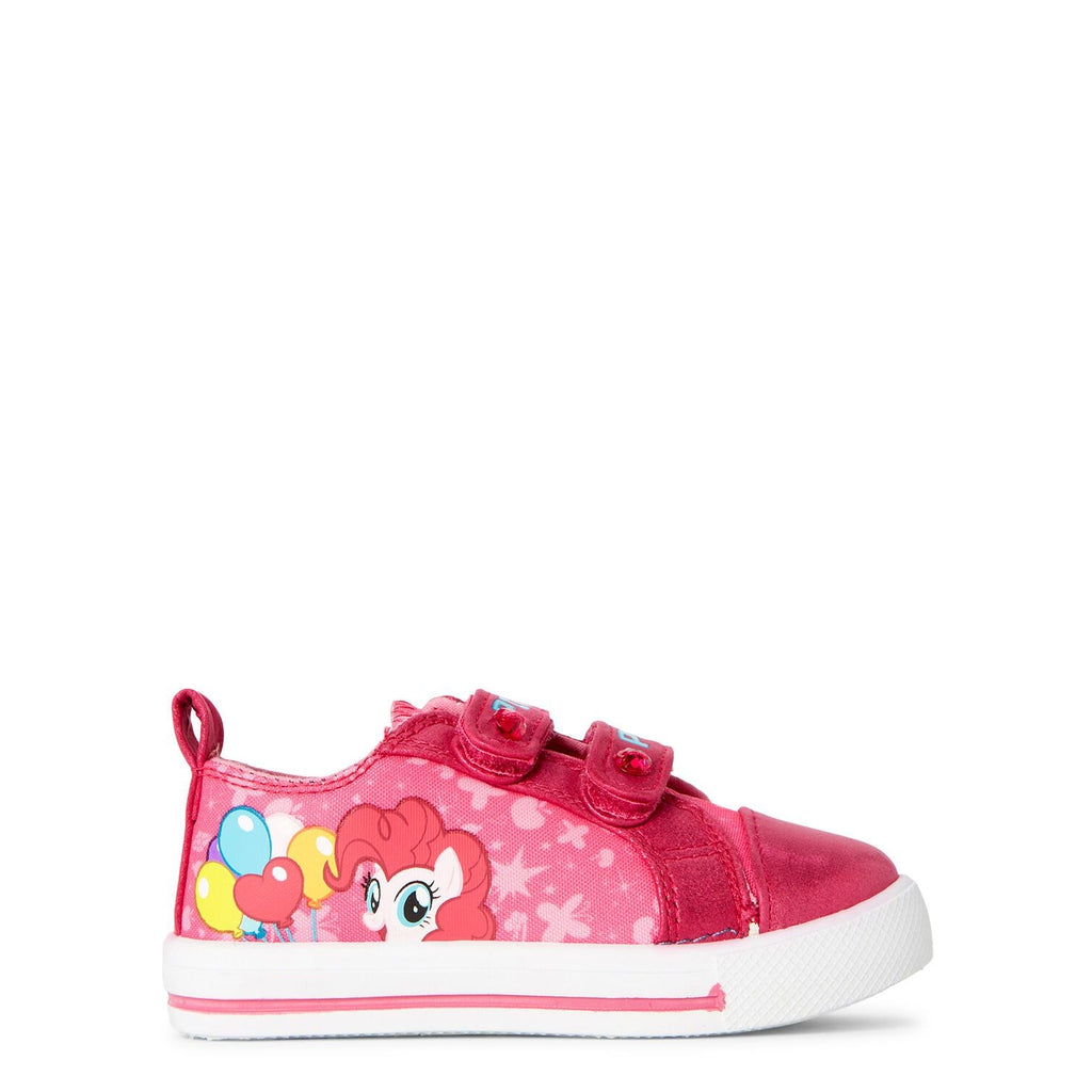 Pink Character Low-Top Sneakers