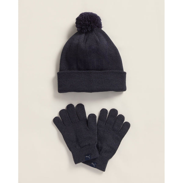 Polar Pom Beanie & Glove Set