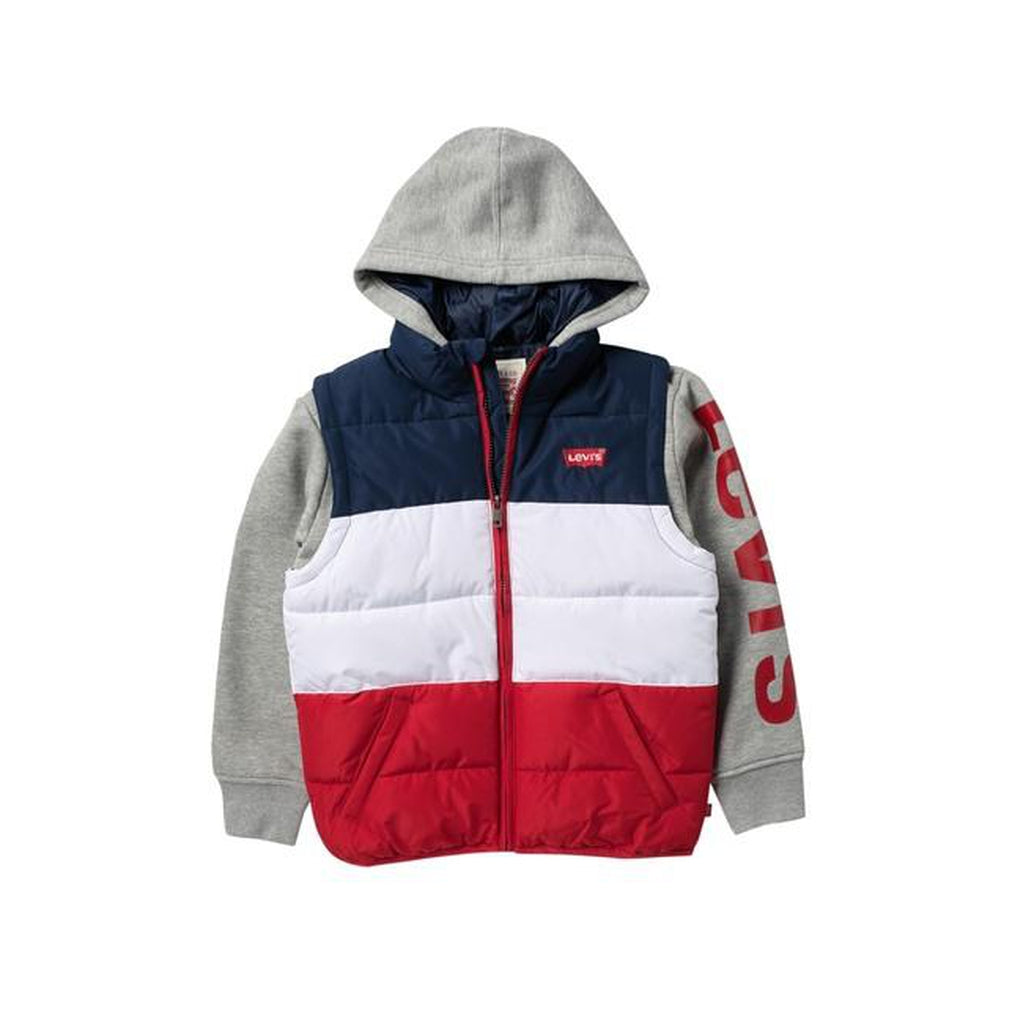 Puffer Fleece Combo Jacket