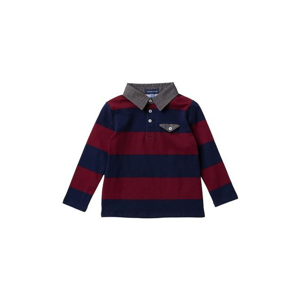 Rugbly Long Sleeve Polo
