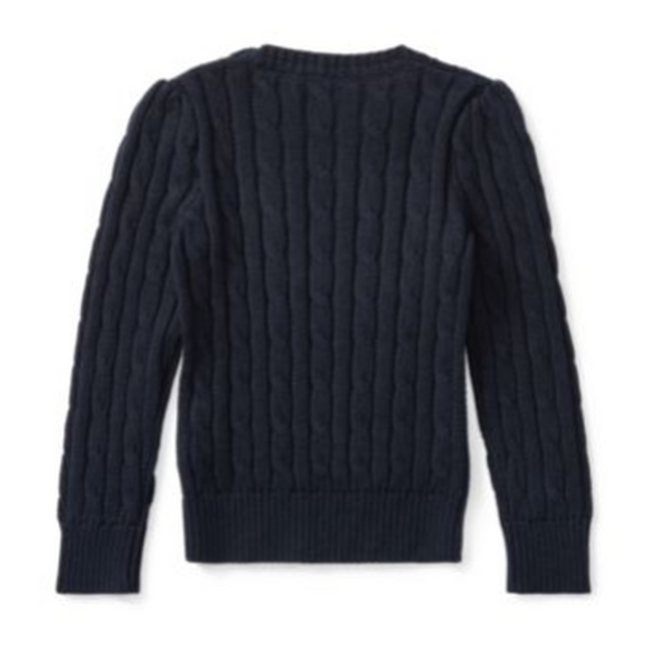 Cable-Knit Cotton Sweater - BABYJOX