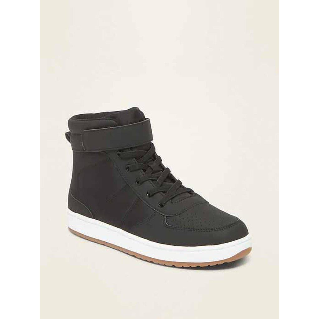 Secure-Strap High-Tops for Boys