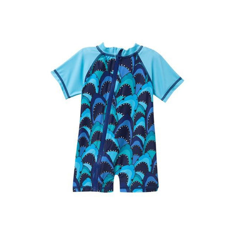 Shark Swim Romper