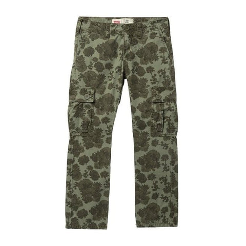 Slim Fit Print Cargo Pants