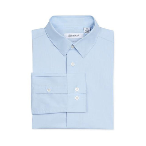 Solid Stretch Poplin Shirt