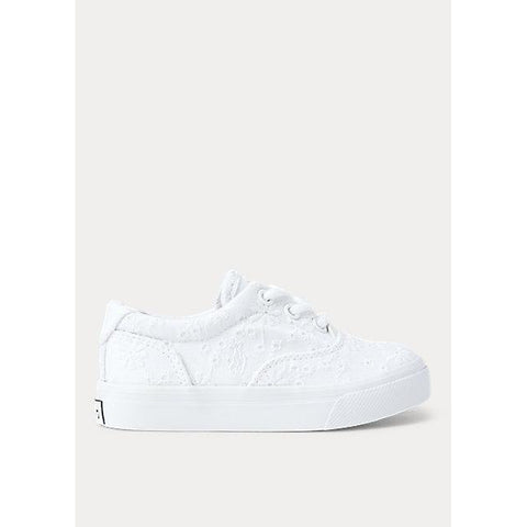 Thornton Eyelet Cotton Sneaker