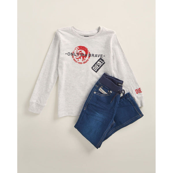Two-Piece Brave Tee & Jeans Set