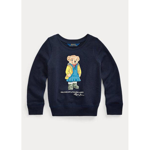 Raincoat Bear Terry Pullover