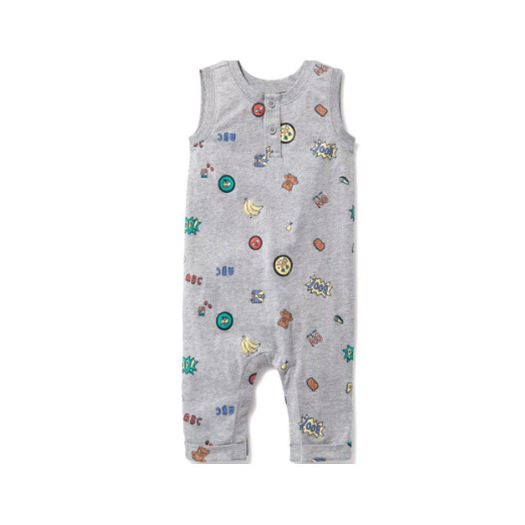 Henley One-Piece For Baby