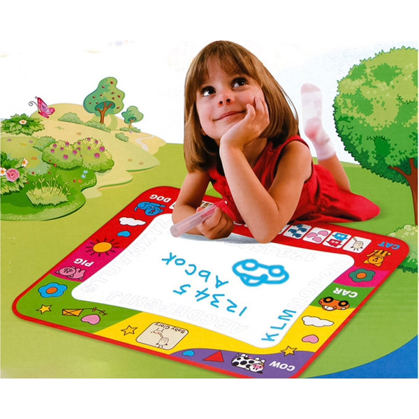Drawing mats for children drawing paint learning Educational Soft Montessori children intelligent creative interactive toy - BABYJOX