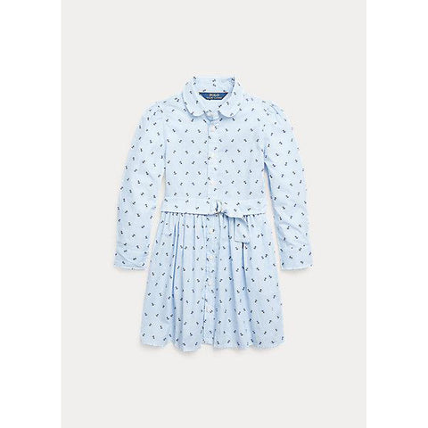 Anchor Cotton Shirtdress