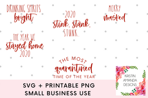 Copy of Christmas SVG Bundle SVG Cut File and Printable PNG • Cricut • Silhouette
