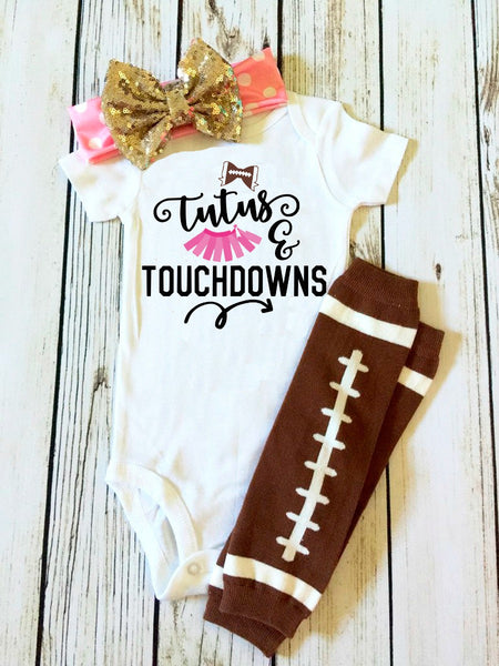Tutus and Touchdowns Football SVG DXF EPS PNG Cut File • Cricut • Silhouette