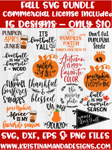 Thanksgiving Svg Dxf And Png Cut Files Tagged Svg Bundle Kristin Amanda Designs